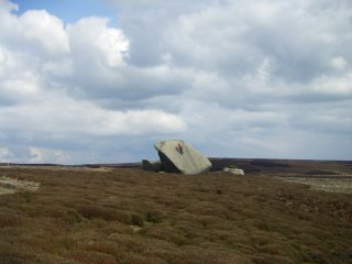 All alone on the moors