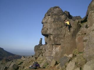 The most Iconic buttress in the moors?!...