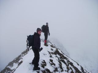 On the Edge.....  Striding Edge to be precise