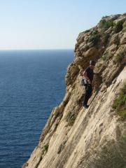 Me on Xaqqa slabs, Malta