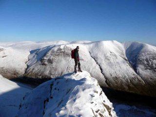 Top of Coomb Craig Ridge.