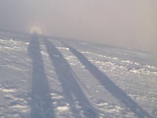 Glockenspectre effect seen on the descent from Ben Nevis