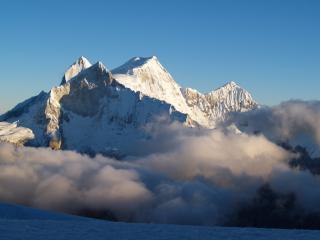 Nevado Chopicalqui Glacier Camp