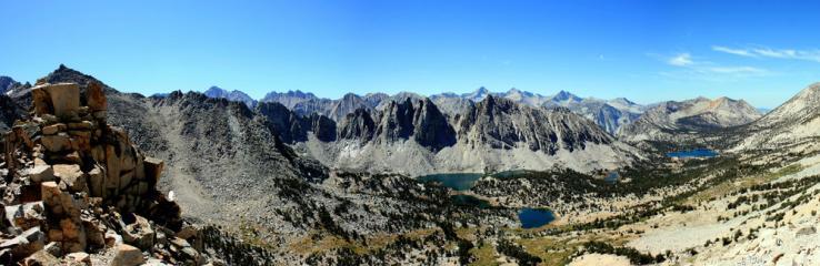 The Kearsarge Pass, High Sierra