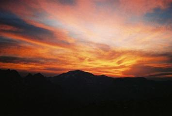 Sunset Over Aiguille Rouge