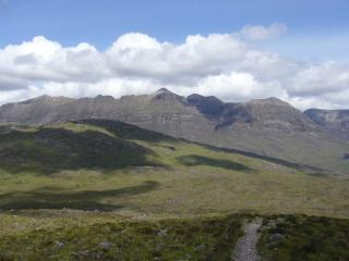 Liathach in full profile