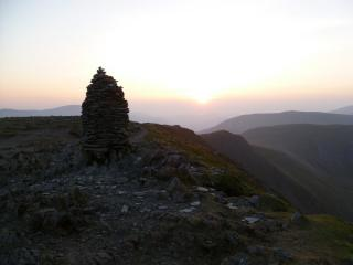 Dale head Cairn at Sunset