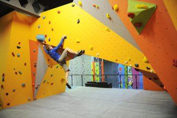 Beacon Climbing Centre, Caernarfon, North Wales