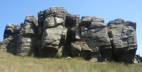 Cold Stone Crag - South Face