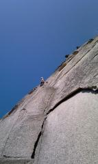 The stupidly exposed 'Sword' pitch of The Grand Wall
