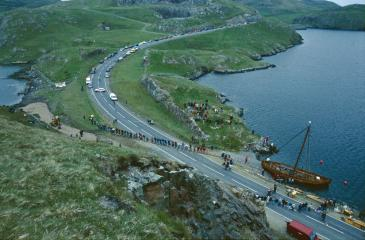 Mavis Grind portage - North Sea to Atlantic.