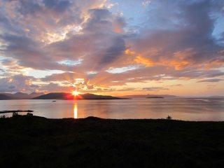 Raasay sunset