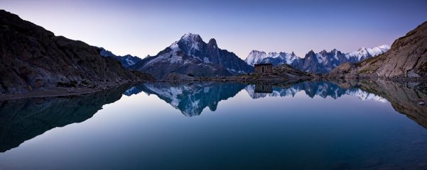 Lac Blanc Dawn...Panoramic
