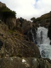 Nearing the top of Tarn Beck