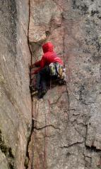 Lower Crack on Laugh Not. White Ghyll