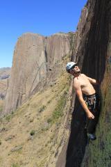 Big walling in Madagascar