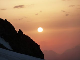 Alpine Morning off Le Pelvoux