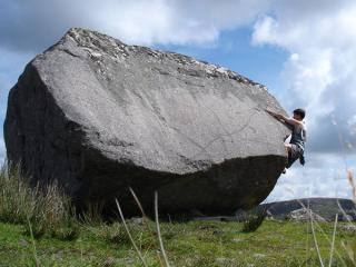 the Barn boulder, Derryrush, Ireland