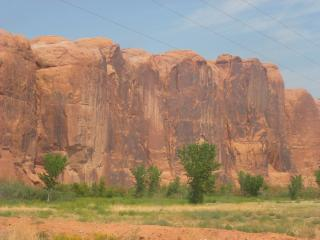 Wall Street, Moab Utah. Scorching in the August sun.