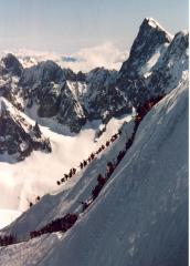 Midi Arete Winter 2001 - Rush Hour
