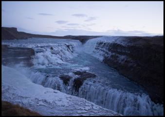 Gullfoss, Iceland 31st Dec. 2012
