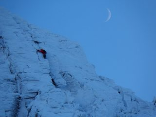 Climbers on The Message