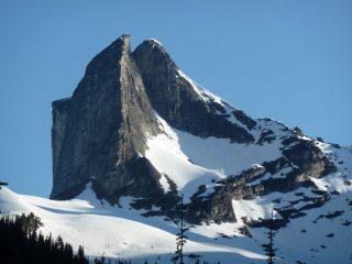 South Ridge of Gimli at dawn