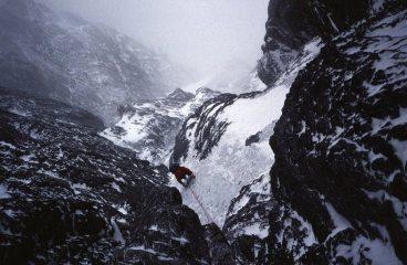 Eiger 1989 day 4: Below the Quartz Crack