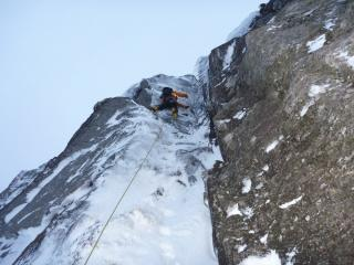 Graham Penny on his route