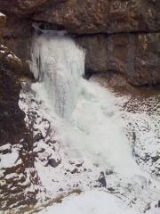 Gordale Waterfall - Xmas Day 2010