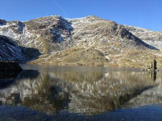 Reflection in levers water