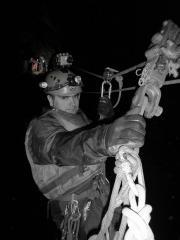Underground Zip wire in croesor rhosydd  Via ferrata in the Mountain