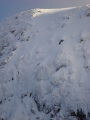 Aonoch Beag (North face) unknown climbers on Sunday 24/02/13