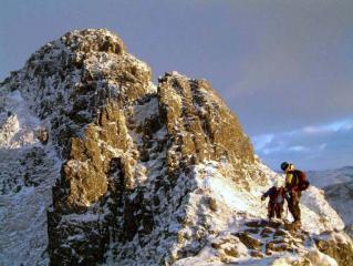 Stuart & Helen on Aonach Eagach