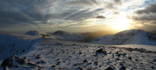 Looking over towards Coniston O.M and Grey Friar from Great Carrs