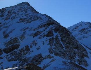 NW ridge Sgurr a'Bhasteir from Meall Odhar.