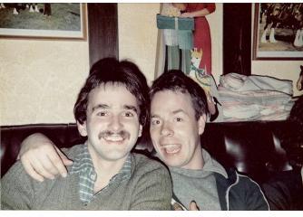 John Bogg Party c1977 (climbing environment?)