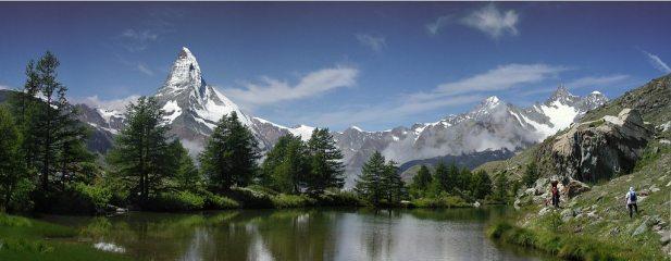 Matterhorn from Grindjisee