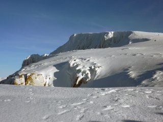 Ben Nevis from near the top of Green Gully