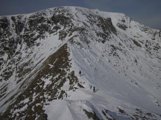 Striding Edge - two really nice guys in front of us
