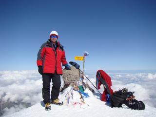 Mt Elbrus 2009