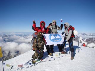 Mt Kazbek, Russia 2011