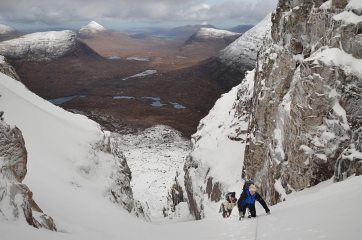 'Way up' & Torridon landscape