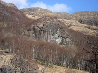 Buzzard Crag, Glen Nevis.
