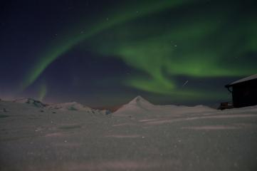 Northern Lights over Barras