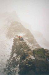 Scotland?  Nope, Derbyshire - Elbow Ridge on Winnats Pass