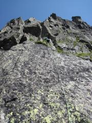 Voie Ravanel, Pointe de Bayere