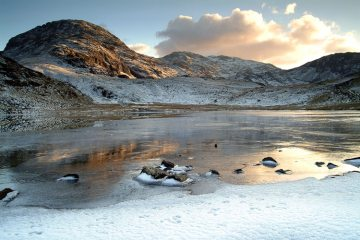 Styhead Frozen - Image taken in Feb 2004 after a magical day on the fells.