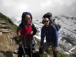 Day One on the Glacier Haute Route.