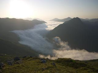 Inversion over Loch Quoich